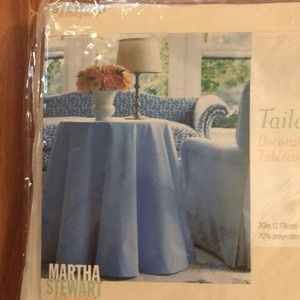 Tailored Decorative Tablecloth by Martha Stewart